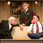 Jack Shepherd, Jeff Fahey and Jim Creighton in The Best Man. Credit: Pamela Raith Photography