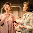 Maureen Lipman and Glynis Barber in The Best Man. Credit: Pamela Raith Photography
