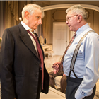 Martin Shaw and Jack Sheperd in The Best Man. Credit: Pamela Raith Photography