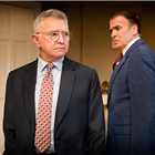 Martin Shaw and Jeff Fahey in The Best Man. Credit: Pamela Raith Photography