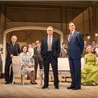 The West End cast of The Best Man. Credit: Pamela Raith Photography