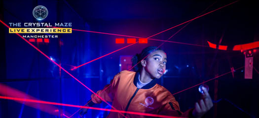 Book The Crystal Maze LIVE Experience Manchester Tickets
