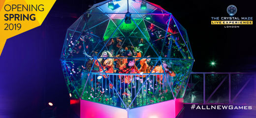 Book The Crystal Maze LIVE Experience West End Tickets