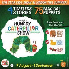 Book The Very Hungry Caterpillar Show Tickets