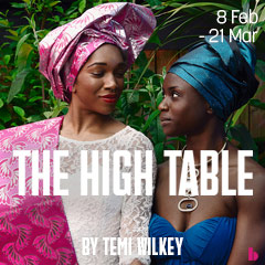 Book The High Table Tickets
