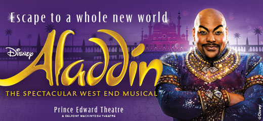 Book Aladdin Tickets