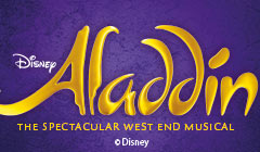 Book Aladdin tickets at the Prince Edward Theatre, London - from LOVEtheatre
