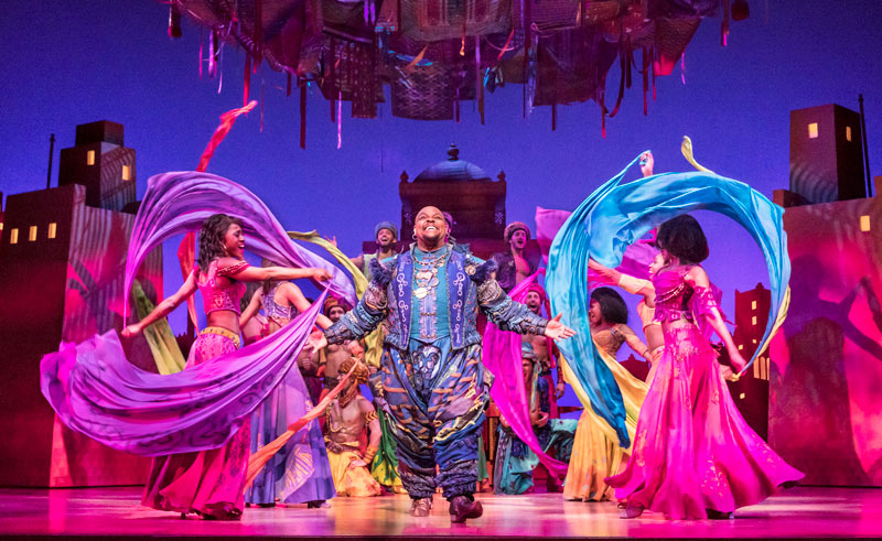 Image result for aladdin the musical london