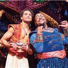 Aladdin (Matthew Croke) & Genie (Trevor Dion Nicholas) - photo by Johan Persson -® Disney