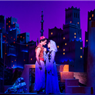Aladdin (Matthew Croke) & Jasmine (Jade Ewen) - photo by Johan Persson -® Disney