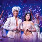 Aladdin (Matthew Croke) & Jasmine (Jade Ewen) - photo by Johan Persson -® Disney