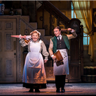 Claire Machin and Jack North in Mary Poppins at Prince Edward Theatre - photograph by Johan Persson