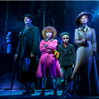 Joseph Millson, Amy Griffiths and company in Mary Poppins at Prince Edward Theatre - photograph by Johan Persson
