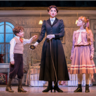 Zizi Strallen and Children in Mary Poppins at Prince Edward Theatre - photograph by Johan Persson