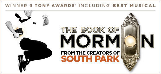 Book The Book Of Mormon Tickets