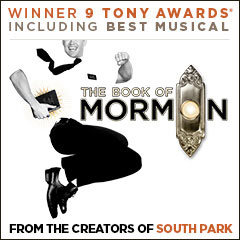 Book The Book Of Mormon + 2 Course Dinner Tickets