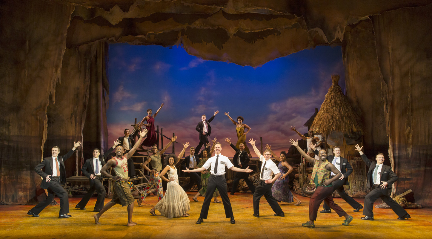 The Book Of Mormon At Londons Prince Wales Theatre