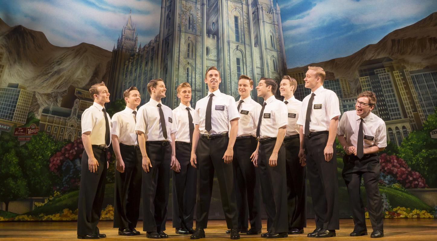 london theatre book mormon