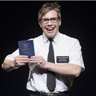 Brian Sears (Elder Cunningham) in The Book Of Mormon at London's Prince Of Wales Theatre