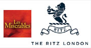 Book Les Misérables + 3 Course Dinner & Glass of Champagne at The Ritz Tickets