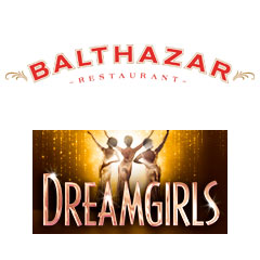 Book Dreamgirls + 2 Course Pre-Theatre Dinner at Balthazar plus Programme & Champagne Tickets