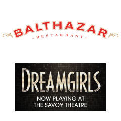 Book Dreamgirls + 2 Course Post-Theatre Dinner at Balthazar plus Programme & Champagne Tickets