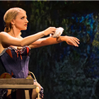 Jake Gyllenhaal and Annaleigh Ashford in Sunday in the Park with George at the Hudson Broadway