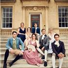The West End cast of Austentatious! An Improvised Jane Austen Novel. Photo credit: Robert Viglaky.