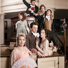 The West End cast of Austentatious! An Improvised Jane Austen Novel. Photo credit: Richard Davenport.
