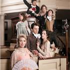 The West End cast of Austentatious! An Improvised Jane Austen Novel. Photo credit: Richard Davenport.