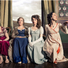 The ladies of Austentatious! An Improvised Jane Austen Novel. Photo credit: Richard Davenport.