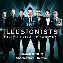 Book The Illusionists Tickets