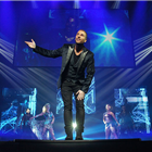 James More in The Illusionists: Photo credit - Mark Turner