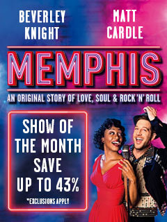 Book Memphis The Musical tickets from LOVEtheatre