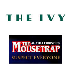 Book The Mousetrap + 2 Course Post-Theatre Dinner at The Ivy Tickets