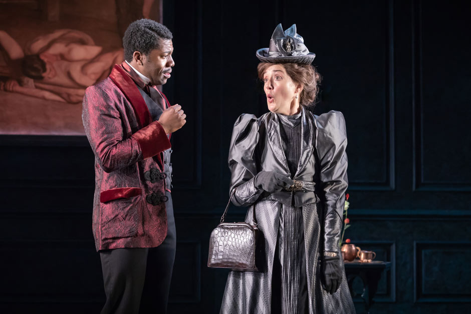 Thesis Statement Examples For Argumentative Essays  The Cast Of The Importance Of Being Earnest At The Vaudeville Theatre  London  How To Write A Thesis Sentence For An Essay also Research Paper Vs Essay The Importance Of Being Earnest Tickets  London Theatre Tickets  Argument Essay Paper Outline