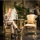Freddie Fox and Edward Fox in An Ideal Husband at the Vaudeville Theatre