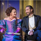 Frances Barber and Nathaniel Parker in An Ideal Husband at the Vaudeville Theatre