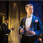 Michael Peters and Freddie Fox in An Ideal Husband at the Vaudeville Theatre