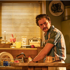Kit Harrington in True West at the Vaudeville Theatre, London. Photo Credit: Marc Brenner