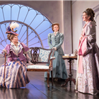 Jennifer Saunders and the cast of Lady Windermere's Fan at the Vaudeville Theatre, London. Credit: Marc Brenner