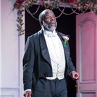Joseph Marcell in Lady Windermere's Fan at the Vaudeville Theatre, London. Credit: Marc Brenner