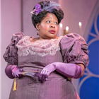 Natasha Magigi in Lady Windermere's Fan at the Vaudeville Theatre, London. Credit: Marc Brenner