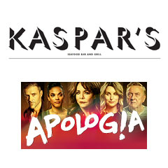 Book Apologia + 2 Course Pre-Theatre Dinner at Kaspar
