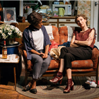 Natasha Gordon and Hattie Ladbury in Nine Night at The Trafalgar Studios, Photo: (c) Helen Murray