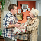 Patricia Hodge and Toby Stephens in A Day in the Death of Joe Egg at Trafalgar Studios 1 - Photo credit Marc Brenner