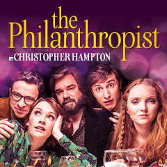 Book The Philanthropist + Complimentary Champagne & Programme Tickets