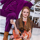 Matt Berry and Lily Cole in The Philanthropist at Trafalgar Studios.
