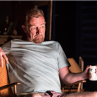 Steffan Rhodri as Ansel Smith in Killer Joe at Trafalgar Studios. Photo Credit: Marc Brenner.