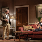Elizabeth McGovern and Matthew Broderick in The Starry Messenger at Wyndhams Theatre. Photo credit: Marc Brenner.